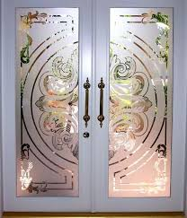 kitchen glass door designs with wooden frame etching for doors painted wood