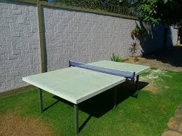 concrete ping pong table. Concrete Ping Pong Table