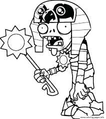 Coloring Pages For Kids Disney Plants Vs Zombies Packed With Free