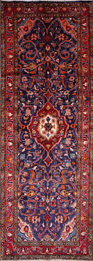 fabulous oriental rug runner of 4x10 sarouk persian