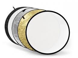 <b>Светоотражатель Fujimi 80cm</b> White Gold Silver Black Diffuser <b>FJ</b> ...