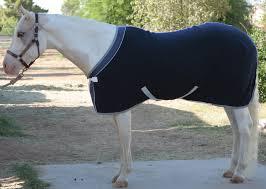 eous solid fleece horse cooler