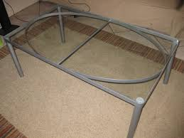 ikea rectangle glass coffee table ikea square oval shaped contemporary stainless steel grey modern furniture