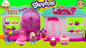 Shopkins Season 4 Cupcake Queen Cafe Cake Bakery Playset With 2