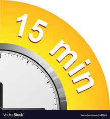 Timer For 15 Min Timer 15 Minutes Royalty Free Vector Image Vectorstock