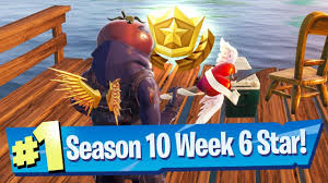 Fortnite Season 10 Week 6 Secret Battle Pass Star Location ...
