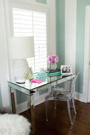 office desk mirror. Modren Mirror Desk Extraordinary Mirrored Office Desk Mirror Vanity Lamp Vas  Flowers Picture Chair Blue Intended E