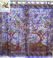 tree of life curtains print curtain fabric purple cotton rooms for dotz shower c tree of life curtains shower