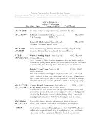 Resume Cover Letter Examples For Students Custom Nurse Practitioner Cover Letter Examples New Graduate Letters Sample