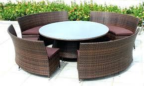 outdoor furniture white. Rattan Wicker Garden Furniture Outdoor Patio Clearance White Table And Chairs Dining Winning Resin Indoor Black Outsunny