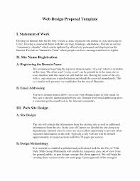Website Proposal Letter Website Design Statement Of Work Luxury Web Design Proposal Letter