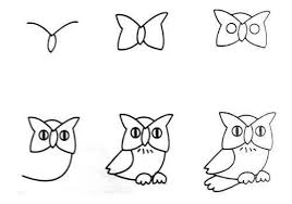 easy animals to draw step by step. Contemporary Step Step By Step Drawing For Beginners  Draw An Owl  How To Draw Painting  And Drawing Kids On Easy Animals To Draw By A