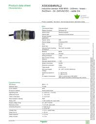 inductive proximity sensors mouser europe