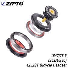 "<b>ZTTO MTB</b> Bike Road Bicycle Headset <b>42mm 52mm</b> CNC 1 1/8"" 1 1 ..."