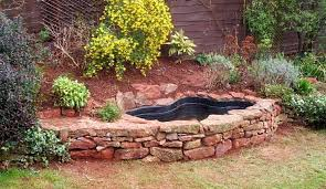Small Picture Small Garden Fish Pond Designs 25 Best Ideas About Small Backyard