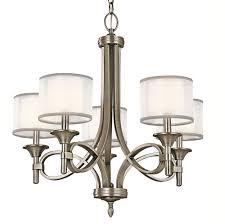 kichler ap lacey chandelier  light  watts antique