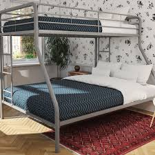 metal bunk bed twin over full. Metal Bunk Beds Twin Over Full Kids Bedroom Bed Dorm Furniture Boys Girls Ladder