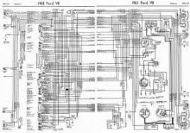 similiar ford electrical wiring diagrams keywords ford v8 galaxie 1963 complete electrical wiring diagram all about