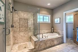 master bathroom ideas corner tub gorgeous bath extra large walk in shower glass door jetted