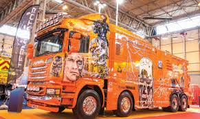 cv show terminator truck wows the crowds commercial motor cv show 2016 terminator truck wows the crowds