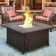 Coffee Table Outdoor Fire Pit Table Patio Fire Table Portable