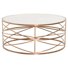 gold round coffee table melrose round coffee table