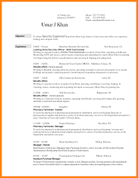 Security Guard Resume 100 Security Guard Resume Mla Cover Page 47