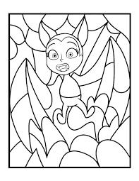 Bat Vampirina Coloring Page Disney Lol
