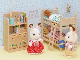Sylvanian Families Bedroom Furniture Set Sylvanian Families 2926 Mobilier Chambre Enfants Poupaces Et