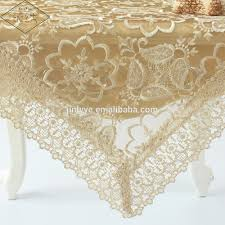 Home Decorative Organza Machine Embroidery Designs Tablecloth - Home machine embroidery designs