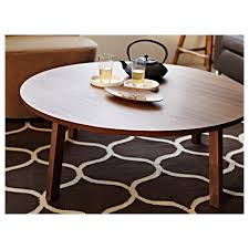 stockholm coffee table walnut veneer round ikea cm art black square end glass top side tops white console couch acrylic metal and