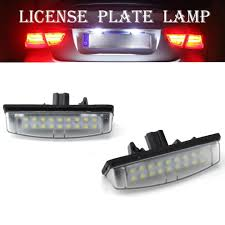 Toyota Camry License Plate Light Replacement Us 4 88 58 Off 2pcs Led Number License Plate Light Replacement For Toyota Camry Aurion 07 Avensis Verso Prius Lexus Is200 Rx350 On Aliexpress