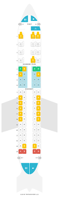 Seat Map Embraer 175 E75 United Airlines Find The Best