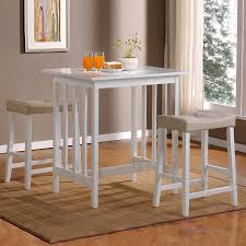 Home Sonata White Dining Set With Counter Height Table At Lowescom