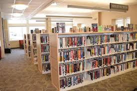 standard library shelf