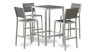 Table Et Chaise Haute Ensemble Table 4 Tabours Chaise Table Haute