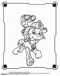 Small Picture Marshall Paw Patrol Coloring Pages Coloring Home