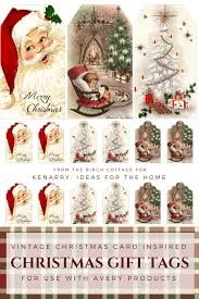 Avery Gift Tags Download Free Printable Vintage Christmas Gift Tags For