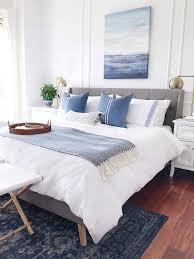 Light Blue Room Design Easy Breezy Summer Decorating Ideas Blue Bedroom Decor