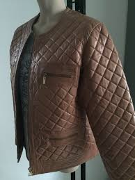 scapa sports leather jacket in chanel style