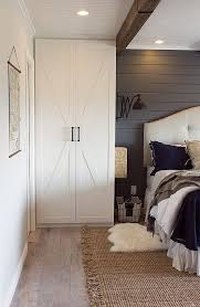 ikea wardrobe lighting. jenna sue added barn door paneling ikea wardrobe lighting