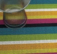 modern outdoor rugs bold stripe blue white black orange green yellow pink modern outdoor rug via