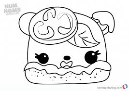 Num Noms Colorings Colouring To Print Series Pdf Coloring Pages