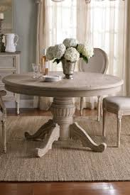valmont dining table rustic distressed inside round design 7