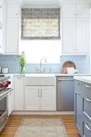 blue backsplash tiles for kitchen blue glass