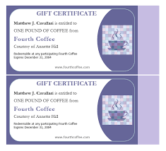 Avery Gift Certificate Template Luxury 2017 Docs Template