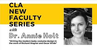 CLA New Faculty Series with Dr. Annie Holt, UCO College of Liberal Arts,  Edmond, 23 October