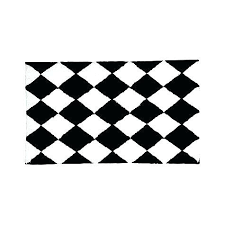black and white rug patterns. Exellent And Black And White Bathroom Rugs Harlequin Bath Rug Patterns  On Black And White Rug Patterns