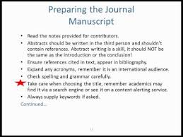 Advantages of the Journal Submission Service