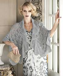 Vogue Knitting Patterns Simple Ravelry 48 Lace Capelet Pattern By Tanis Gray